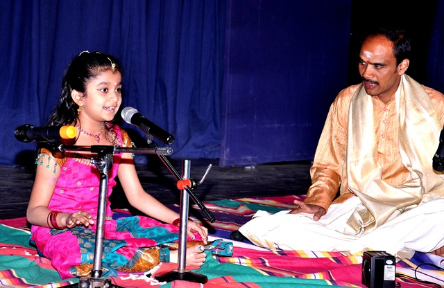 Carnatic Vocal Guru Sishya
